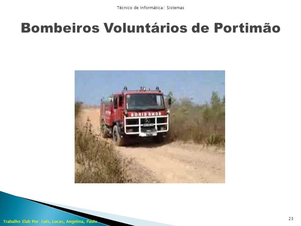 Técnico de Informática/ Sistemas Trabalho Elab Por: Luís, Lucas, Angelina, Paulo 23