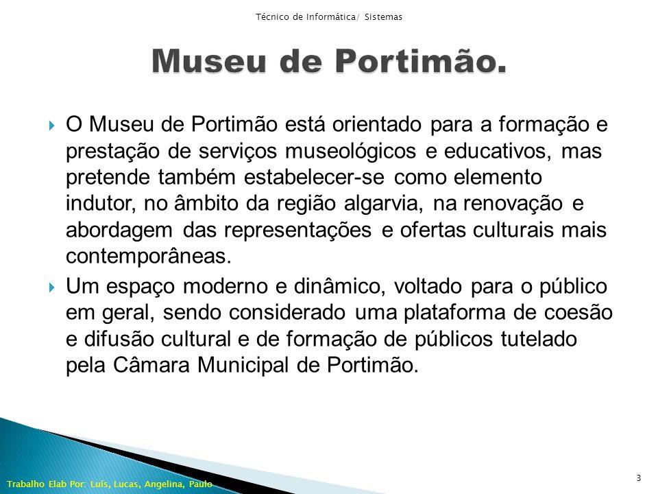 O Museu de Portimão está orientado para a formação e prestação de serviços museológicos e educativos, mas pretende também estabelecer-se como elemento