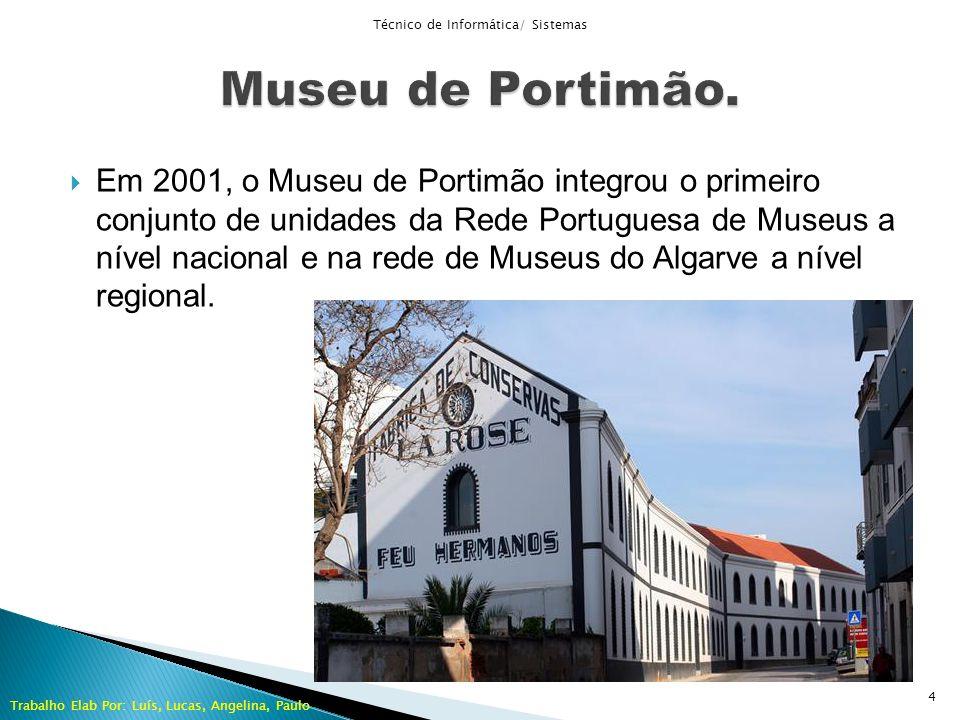 Em 2001, o Museu de Portimão integrou o primeiro conjunto de unidades da Rede Portuguesa de Museus a nível nacional e na rede de Museus do Algarve a n