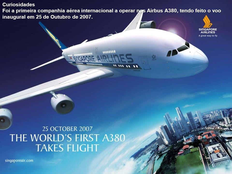 Cabine da Singapore Airlines- First Class no Airbus A380.