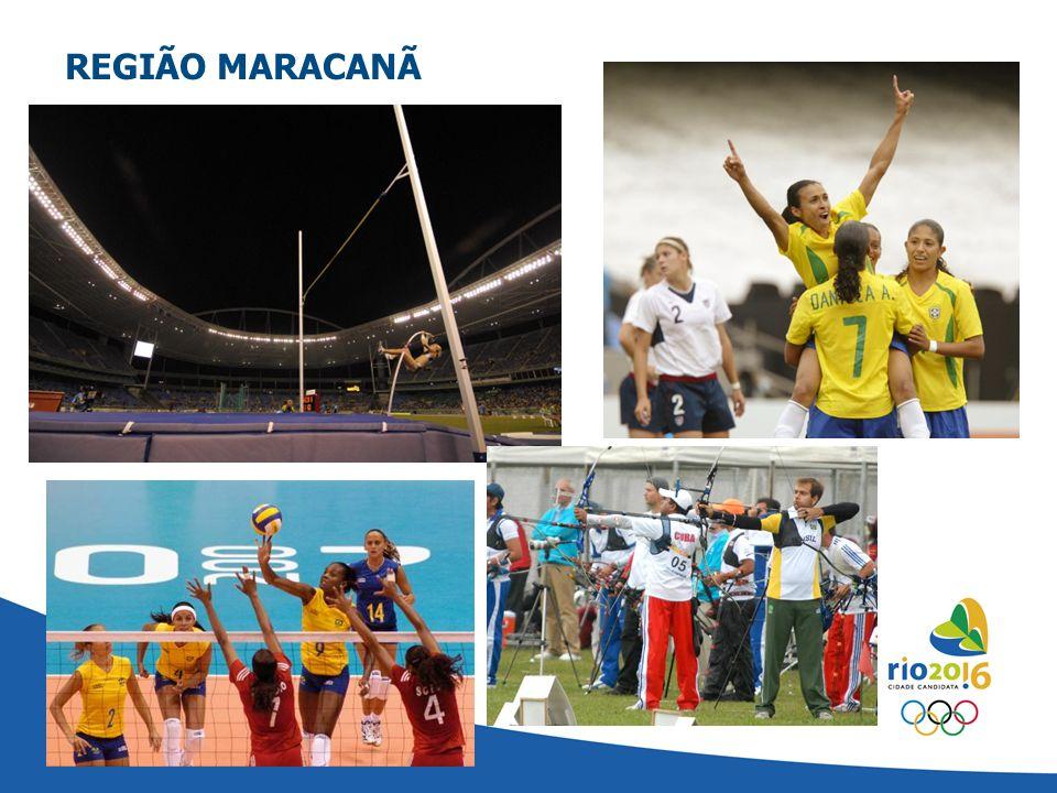 CLUSTER MARACANÃ - RIO 2016 REGIÃO MARACANÃ