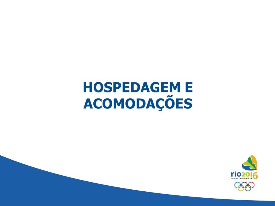 HOSPEDAGEM E ACOMODAÇÕES
