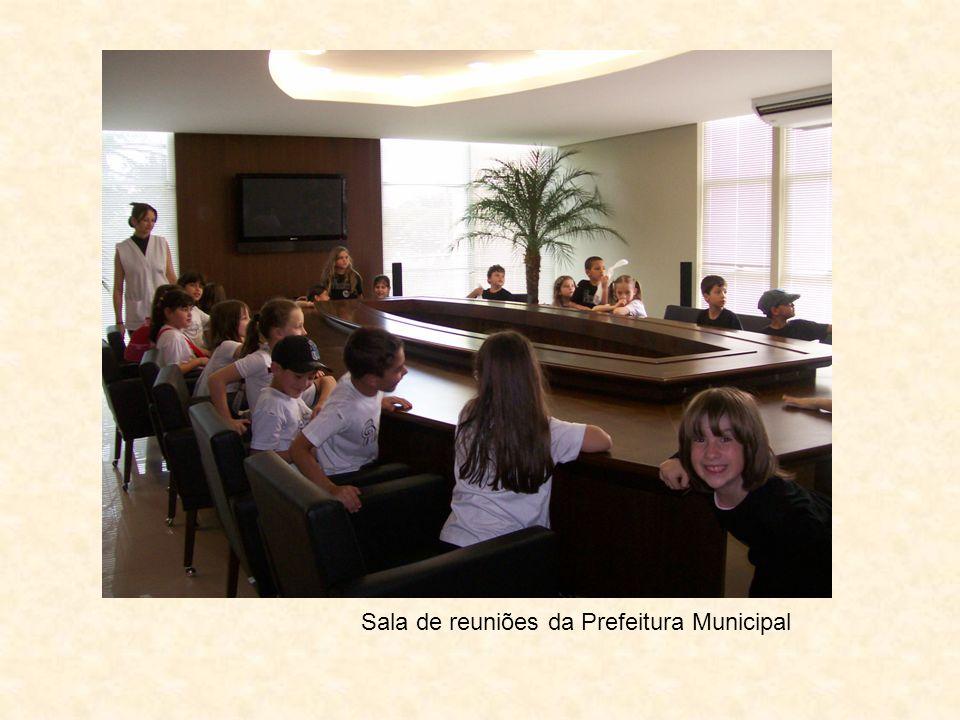 Sala de reuniões da Prefeitura Municipal