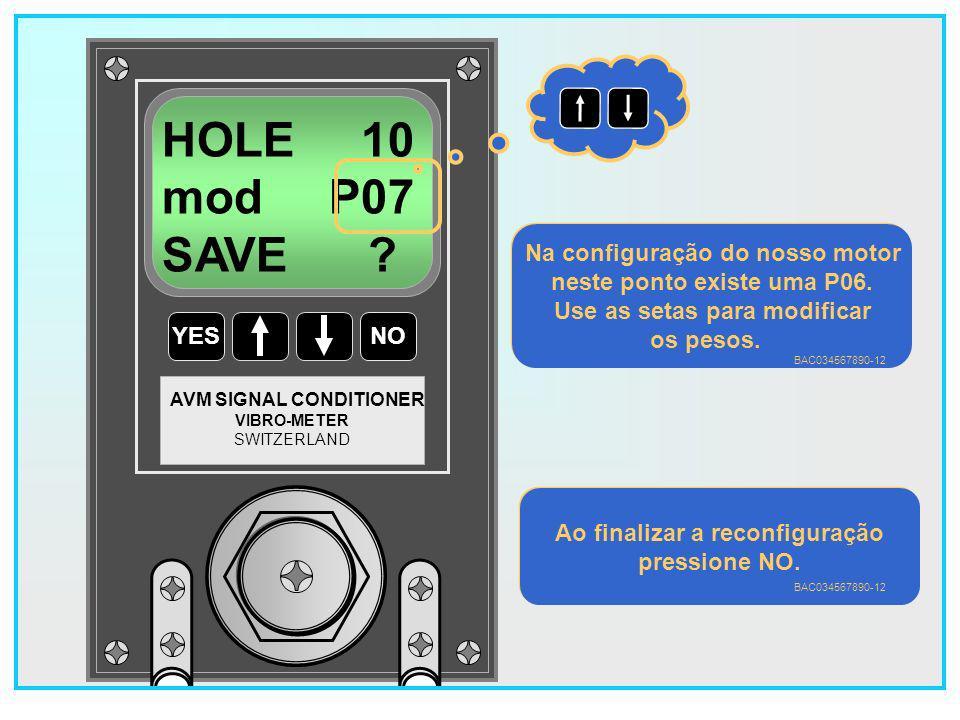 123 YESNO VIBRO-METER SWITZERLAND AVM SIGNAL CONDITIONER HOLE 10 mod P06 SAVE .