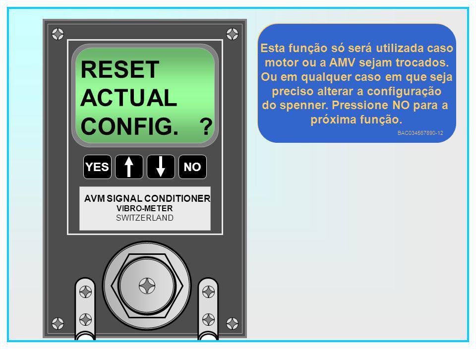 12 YESNO VIBRO-METER SWITZERLAND AVM SIGNAL CONDITIONER READ CONFIG.