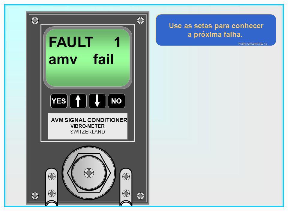 20 YESNO VIBRO-METER SWITZERLAND AVM SIGNAL CONDITIONER 02 FAULTS DISPLAY .