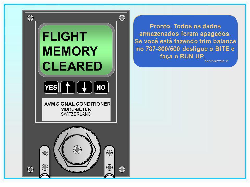 36 YESNO VIBRO-METER SWITZERLAND AVM SIGNAL CONDITIONER CLEAR FLIGHT MEMORY .