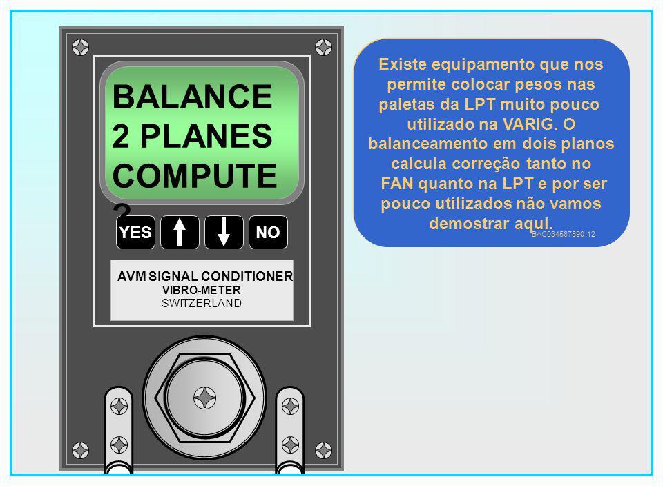 47 YESNO VIBRO-METER SWITZERLAND AVM SIGNAL CONDITIONER BALANCE 1 PLANE COMPUTE .