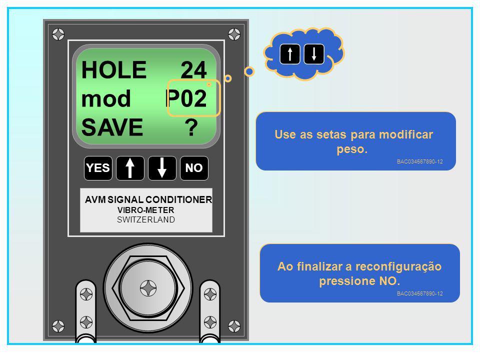 93 YESNO VIBRO-METER SWITZERLAND AVM SIGNAL CONDITIONER HOLE 22 mod P02 save .