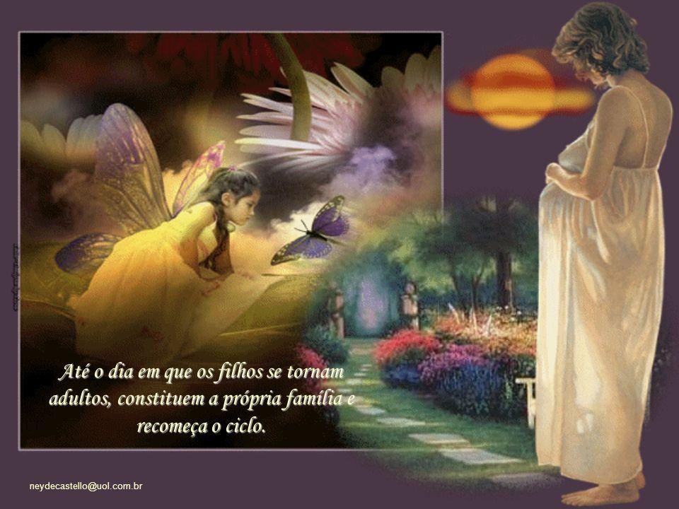 neydecastello@uol.com.br (...) A cada nova fase, uma nova perda e um novo ganho para os dois lados, mãe e filho. Porque o amor é um processo de libert