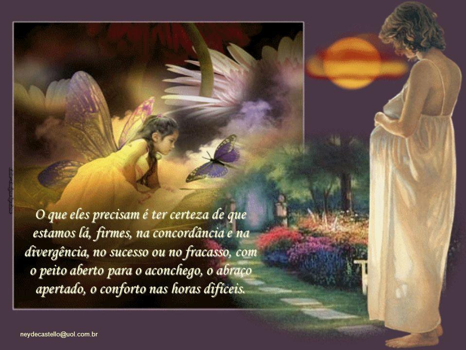 neydecastello@uol.com.br Até o dia em que os filhos se tornam adultos, constituem a própria família e recomeça o ciclo.