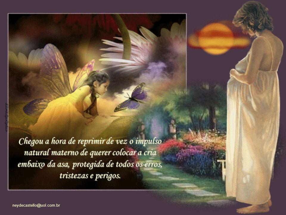 neydecastello@uol.com.br Agora que minha filha adolescente, aos quase 18 anos, começa a dar vôos-solo.