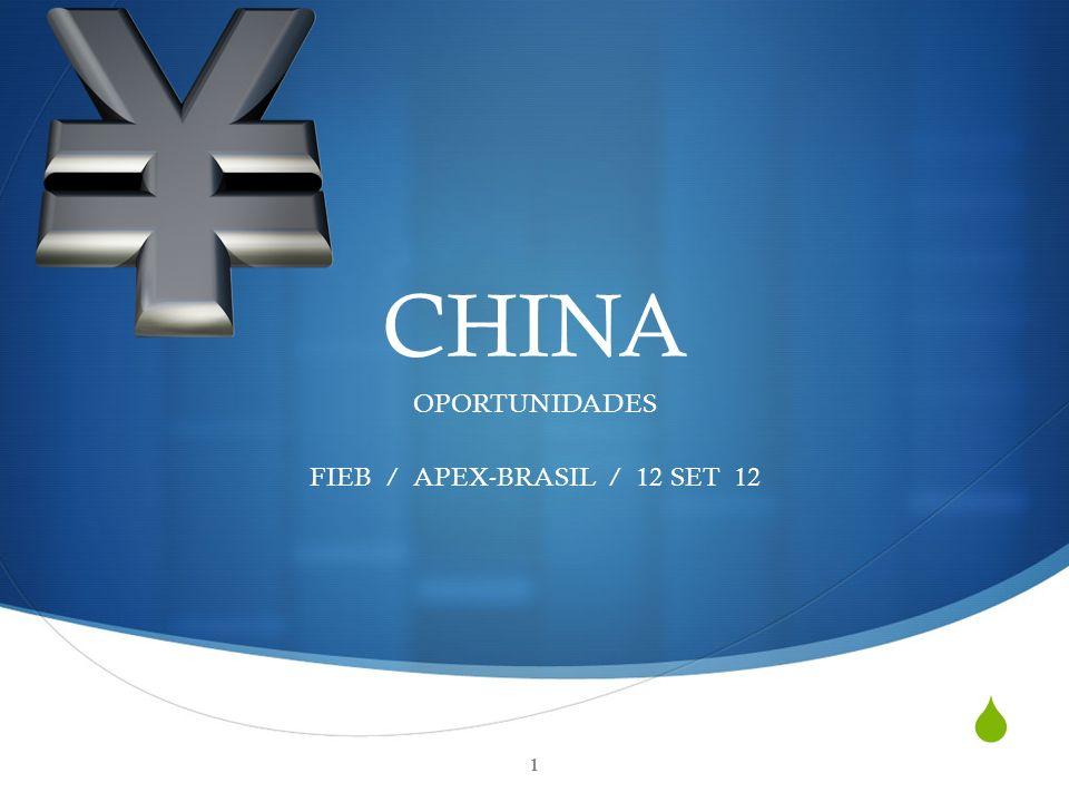 CHINA OPORTUNIDADES FIEB / APEX-BRASIL / 12 SET 12 1