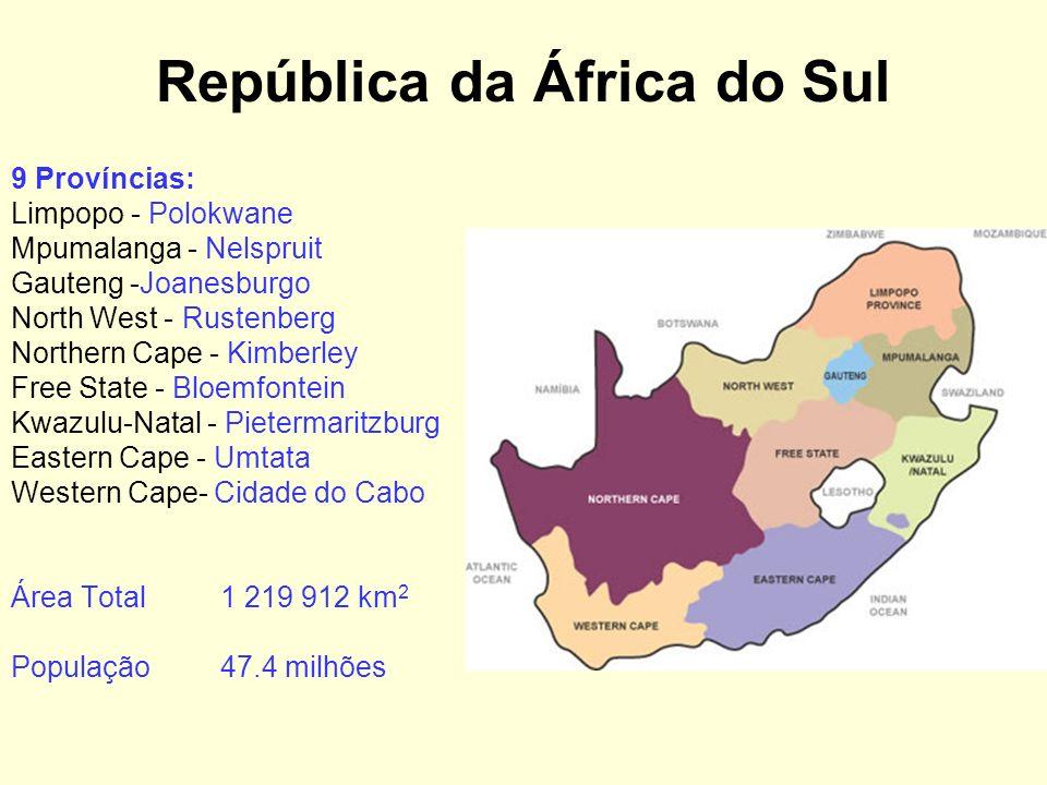 Principais Investidores Portugueses na África do Sul Amorim (cortiça) Banif (financeiro & outros) Caixa Geral de Depósitos (financeiro) Cimpor (cimento) Pestana Group (hotelaria) Sonae (produtos de madeira)