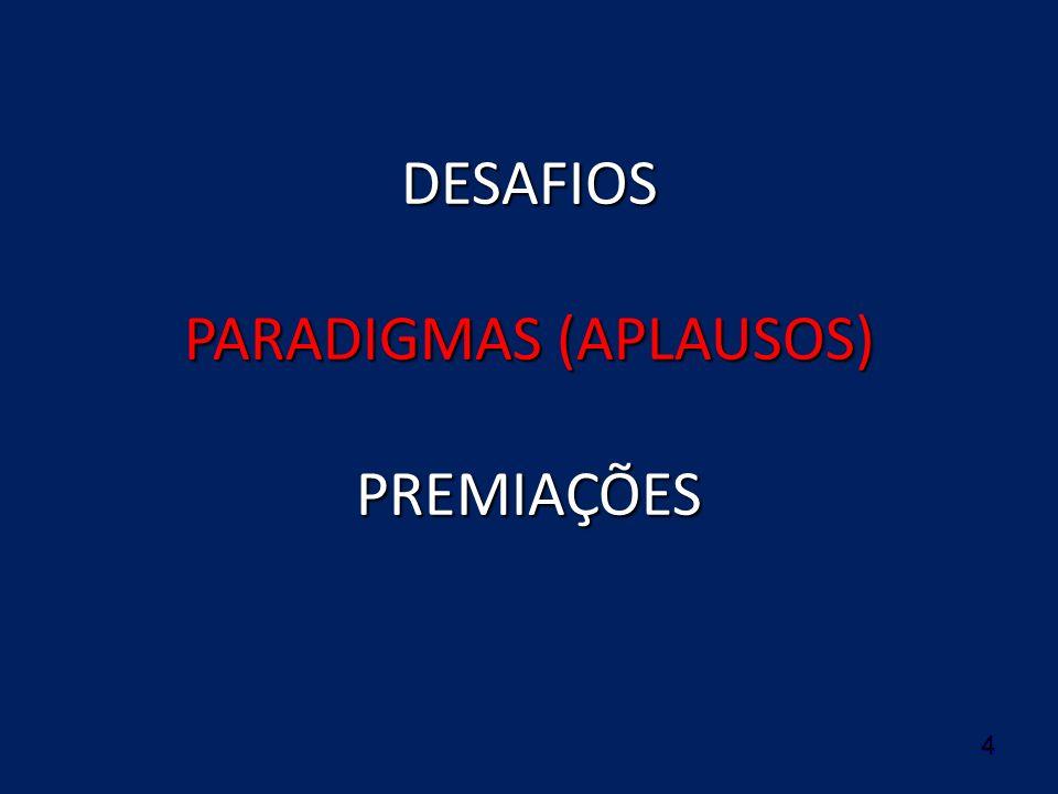 4 DESAFIOS PARADIGMAS (APLAUSOS) PREMIAÇÕES