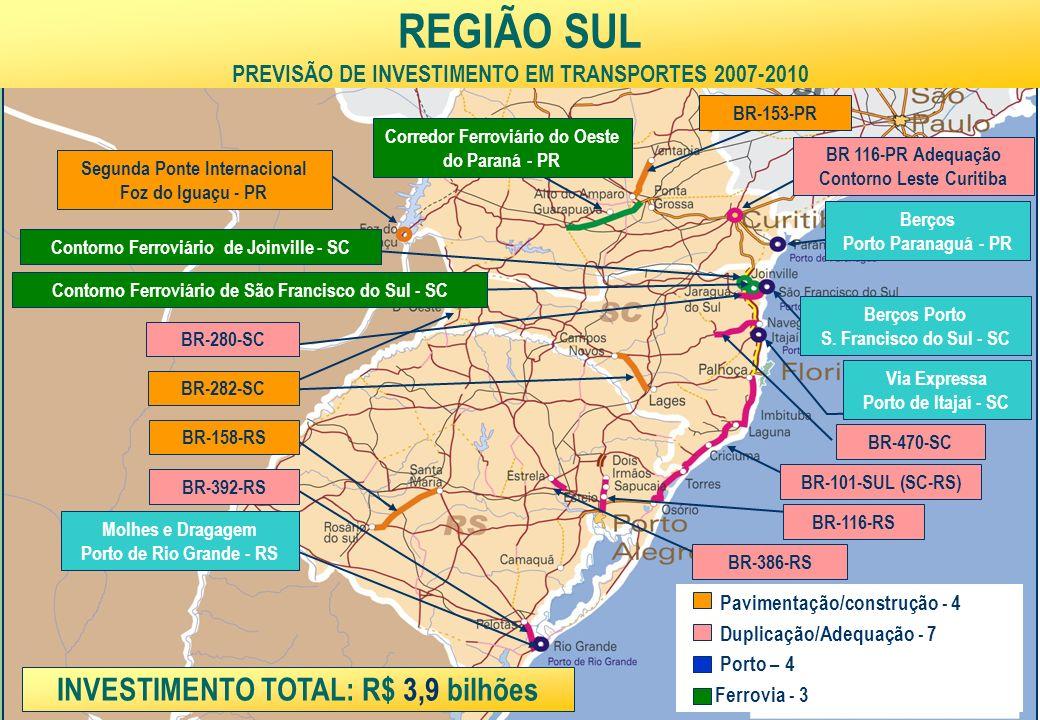 Ministério da Fazenda 31 Molhes e Dragagem Porto de Rio Grande - RS Via Expressa Porto de Itajaí - SC Berços Porto S.