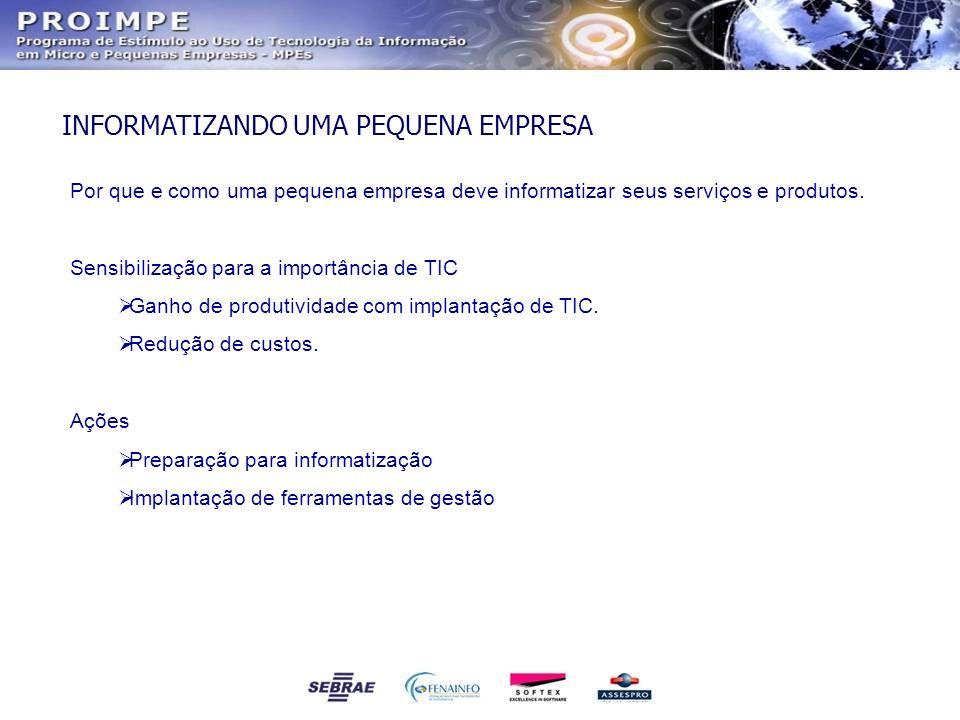 Qualidade para os produtos e serviços de TIC através da certificação ISO de seus fornecedores.