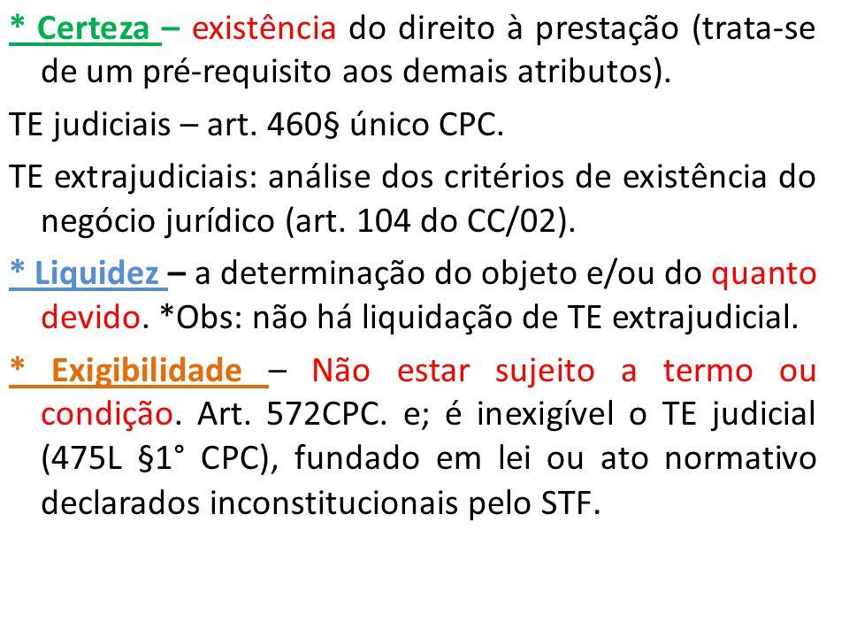 ROL de T.E.judiciais (continuação) Art.