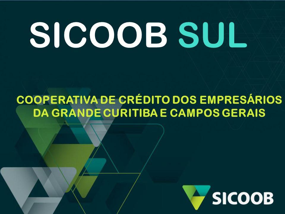 SICOOB SUL Não tem cliente, mas cooperado.Não há lucro, mas divisão de sobras.
