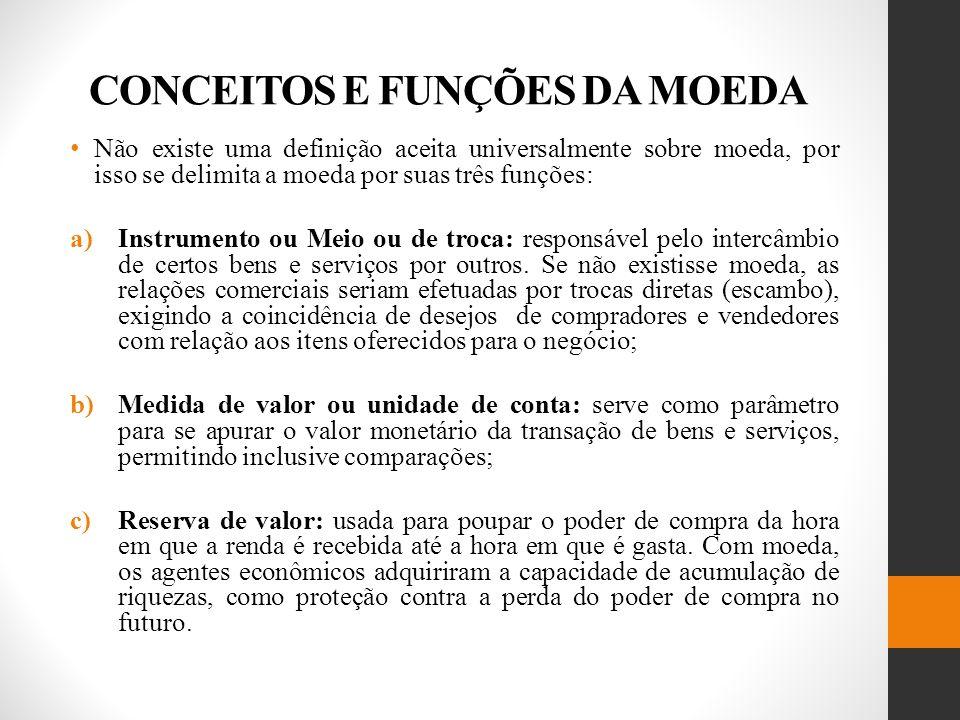 SUBSISTEMA NORMATIVO b)banco do governo: grande parte dos fundos do governo é depositado no Banco Central.