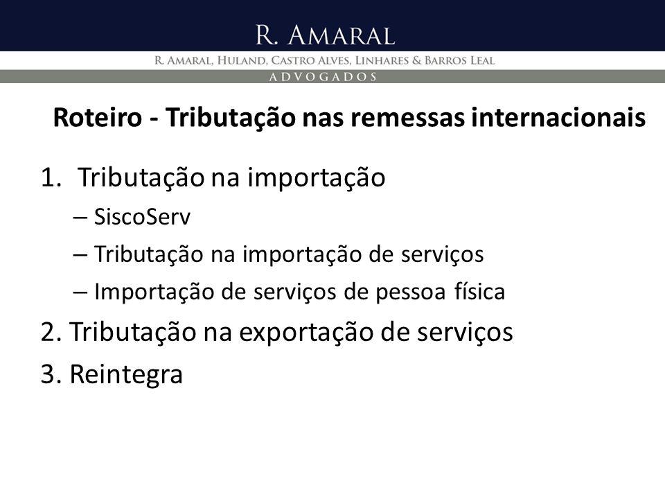 Reintegra – Aspectos Gerais 5.