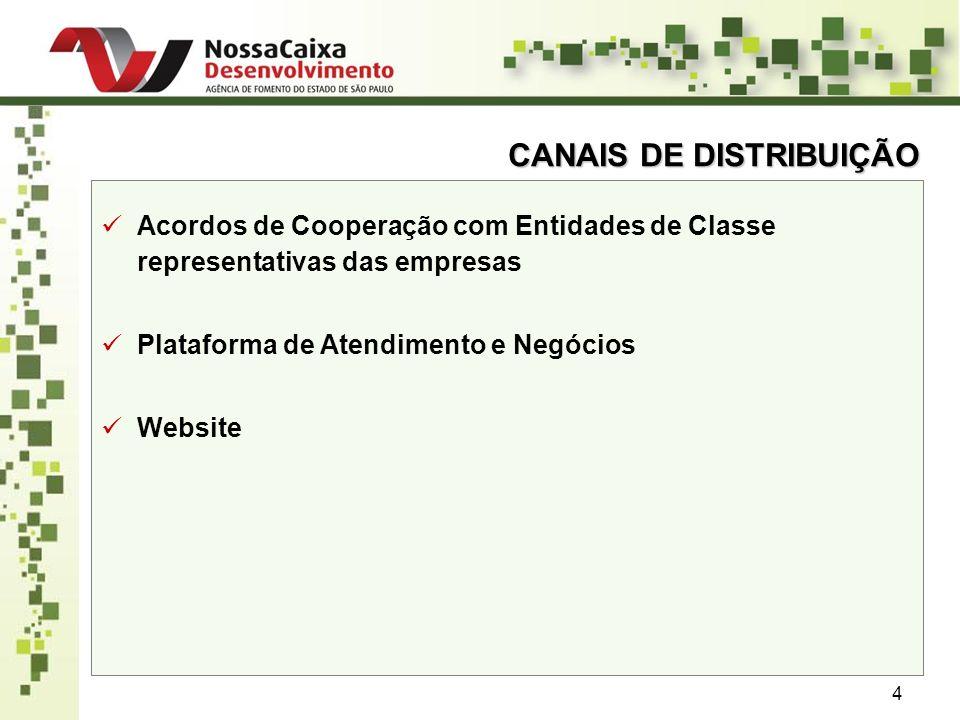 5 ENTIDADES DE CLASSE PARCEIRAS