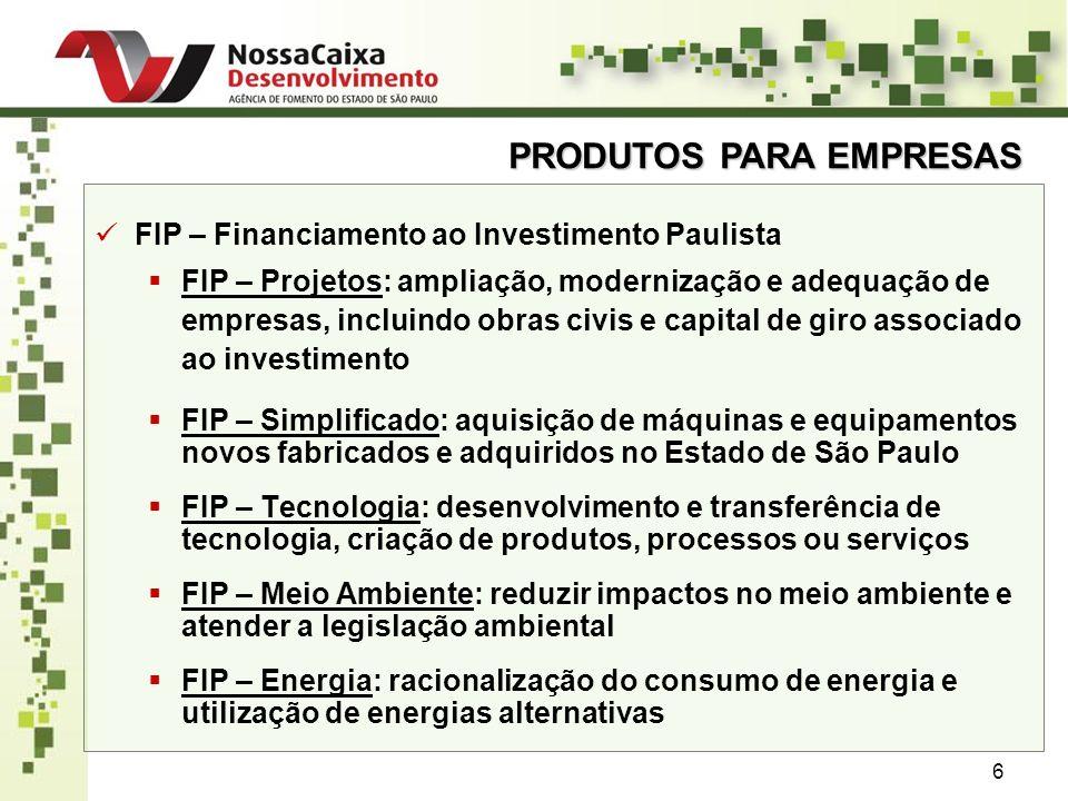 DESEMPENHO 27 OPERAÇÕES DE CRÉDITO LIBERADAS VALORES DE DESEMBOLSO (R$ Milhões)