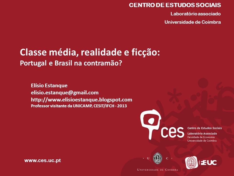 CENTRO DE ESTUDOS SOCIAIS Laboratório associado Universidade de Coimbra www.ces.uc.pt Elísio Estanque elisio.estanque@gmail.com http://www.elisioestan
