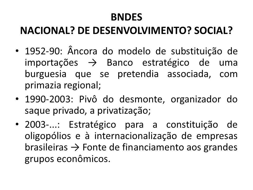 BNDES NACIONAL. DE DESENVOLVIMENTO. SOCIAL.