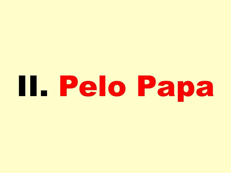 II. Pelo Papa