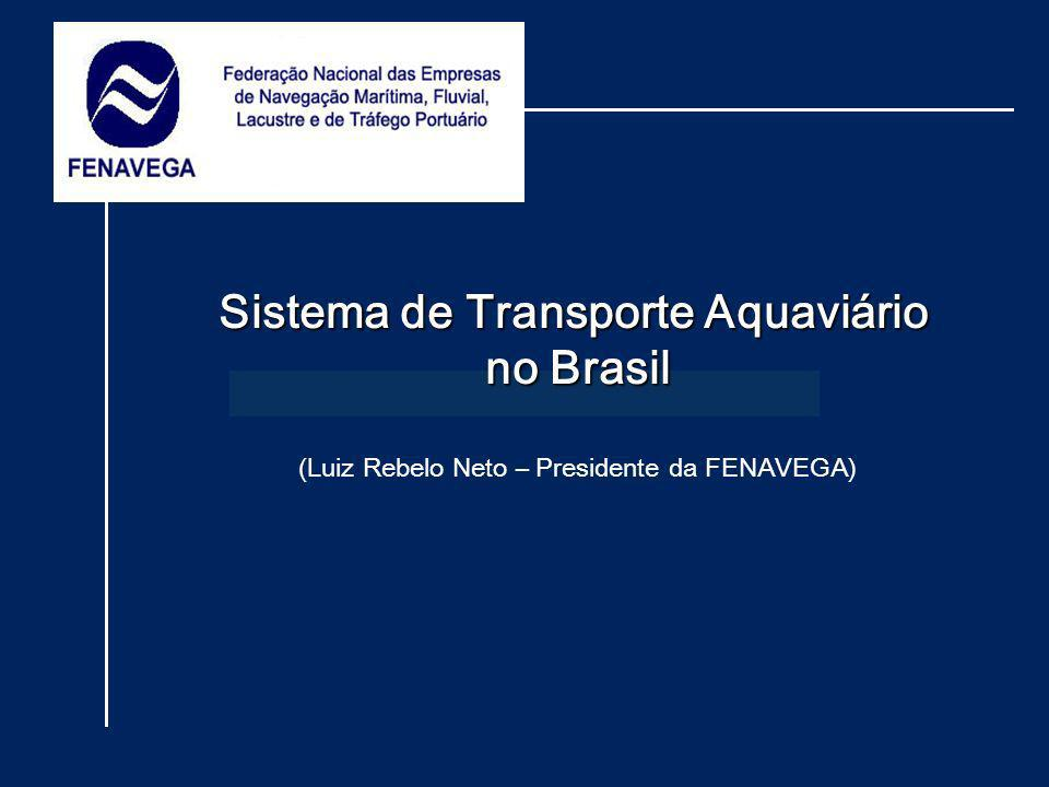 Sistema de Transporte Aquaviário no Brasil (Luiz Rebelo Neto – Presidente da FENAVEGA)