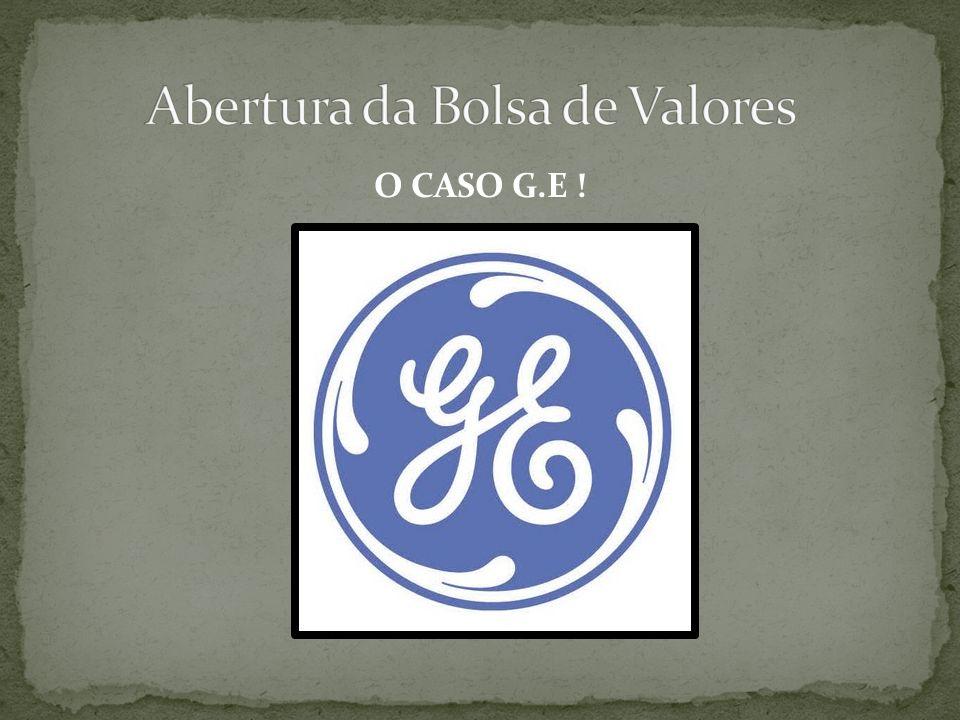 O CASO G.E !