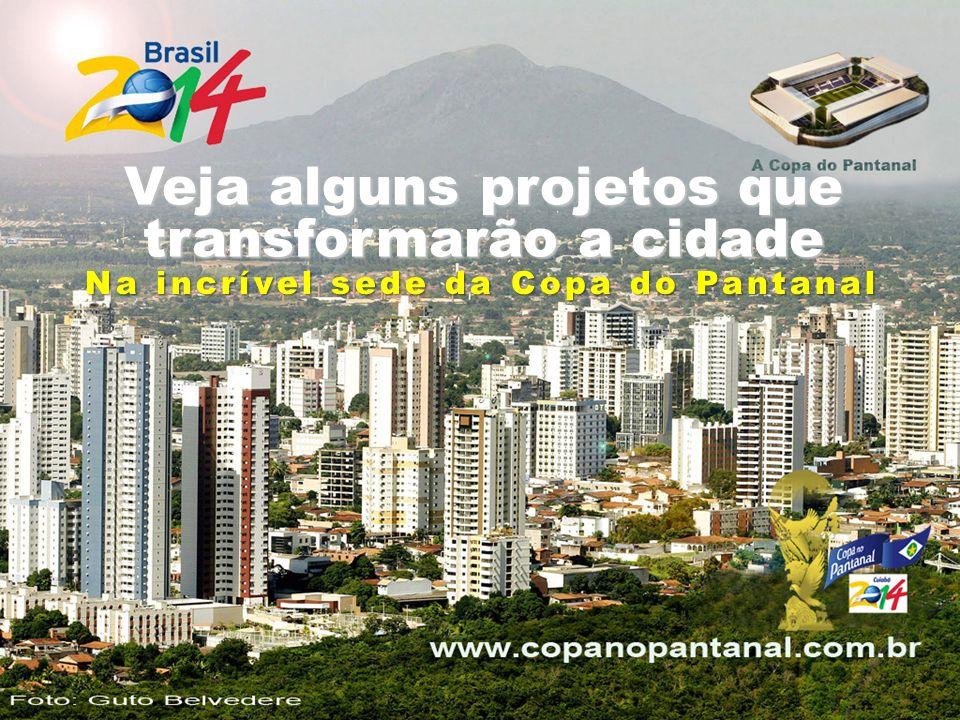Para a Copa de 2014 Veja alguns projetos que transformarão a cidade Na incrível sede da Copa do Pantanal