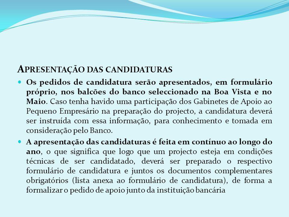 A POIO À PREPARAÇÃO DAS CANDIDATURAS As Câmaras Municipais da Boa Vista e do Maio, em colaboração com a SDTIBM, garantem o funcionamento de Gabinetes