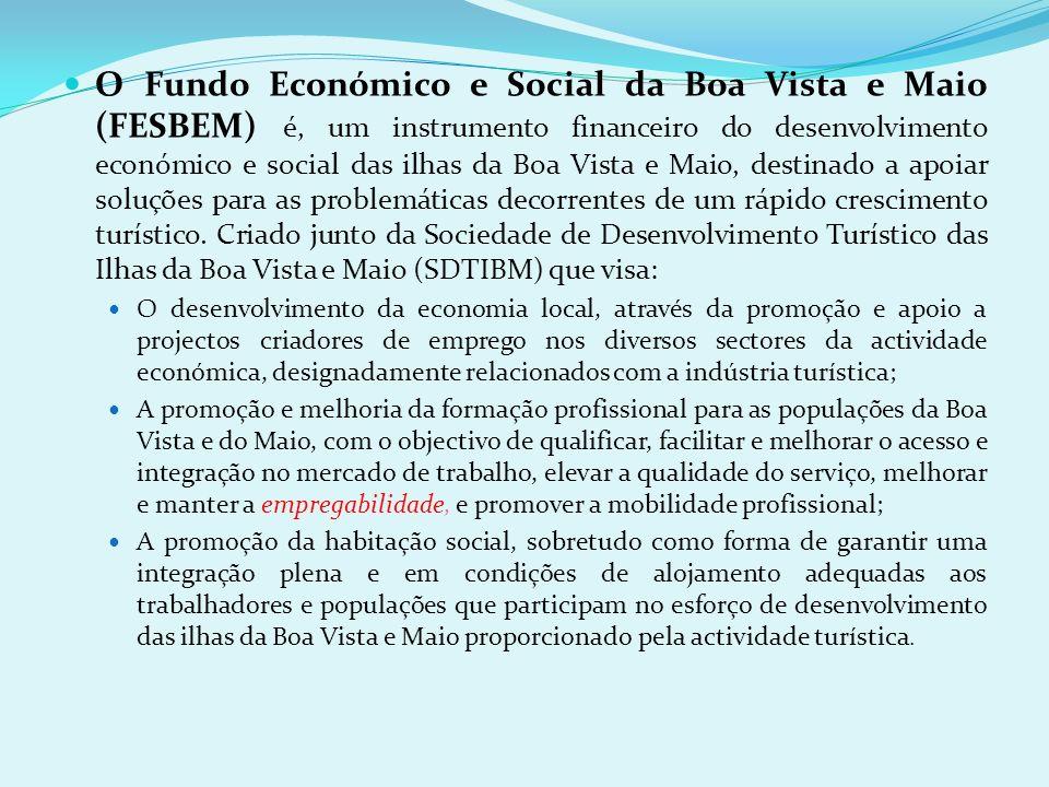 Importa também considerar que o desenvolvimento rápido da oferta turística nas ilhas da Boa Vista e Maio irá criar uma dinâmica de desenvolvimento lig