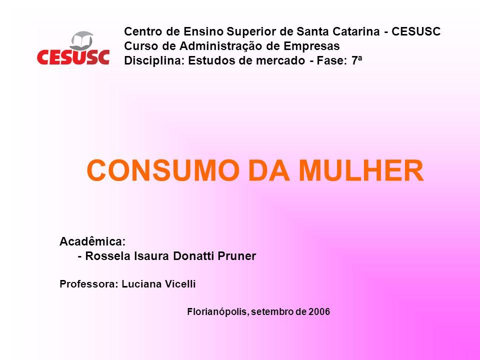 CONSUMIDORA: Matéria de capa PERPESCTIVAS 2005 Uma pesquisa inédita da LatinPanel, em parceria com SuperHiper, revela as faces, as preferências e o comportamento de compra da consumidora brasileira, que responde por 80% das decisões de compra no ponto-de-venda.