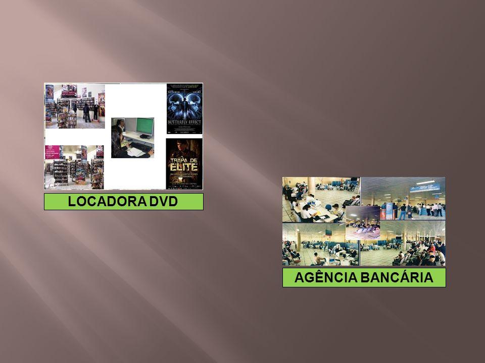 AGÊNCIA BANCÁRIA LOCADORA DVD