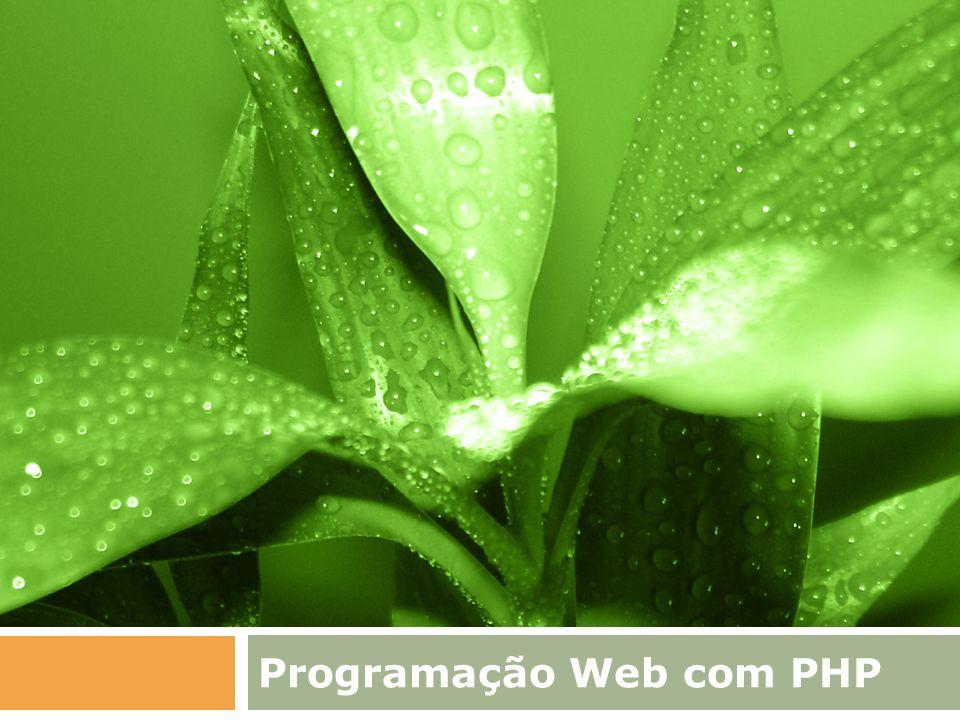 Programação Web com PHP