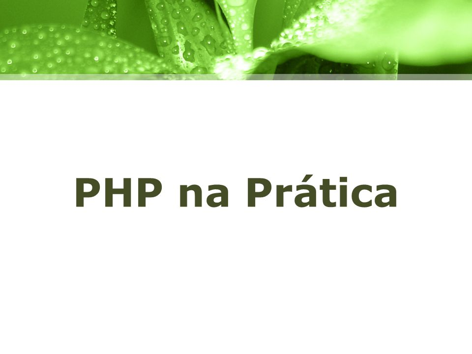 PHP na Prática