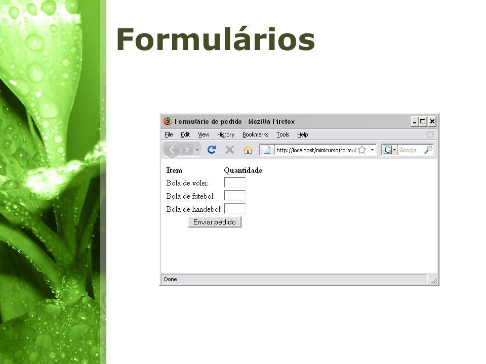 Os dados enviados em um formulário são armazenados em um array.