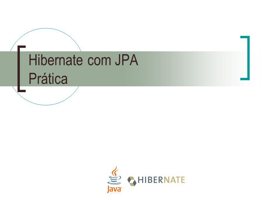 Hibernate com JPA Prática