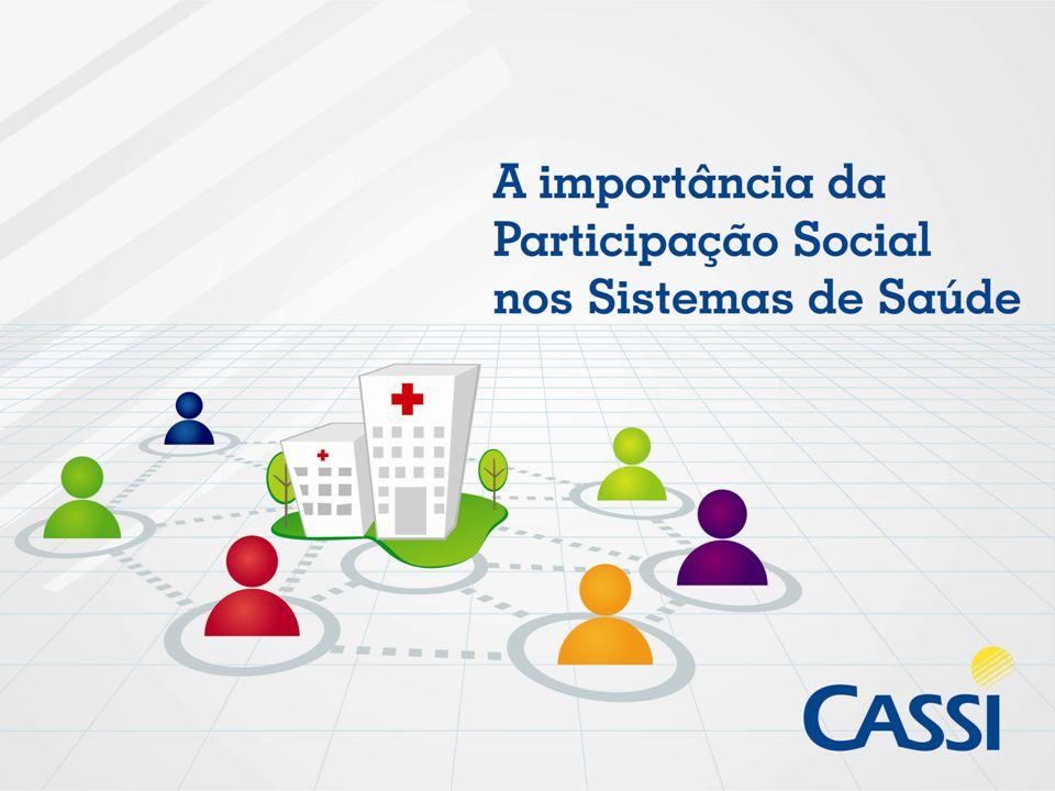 Para melhor conhecer sobre os Conselhos de Usuários da CASSI Consulte: WWW.CASSI.COM.BRWWW.CASSI.COM.BR INSTITUCIONAL (na barra acima) CONSELHO DE USUÁRIOS (à direita)