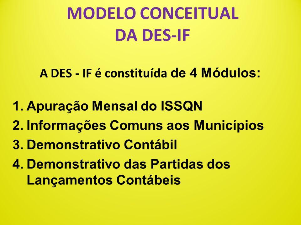 GERAÇÃO E GUARDA DA DES-IF A geração da DES-IF será feita por meio de serviços informatizados, disponibilizados aos contribuintes, para a importação d