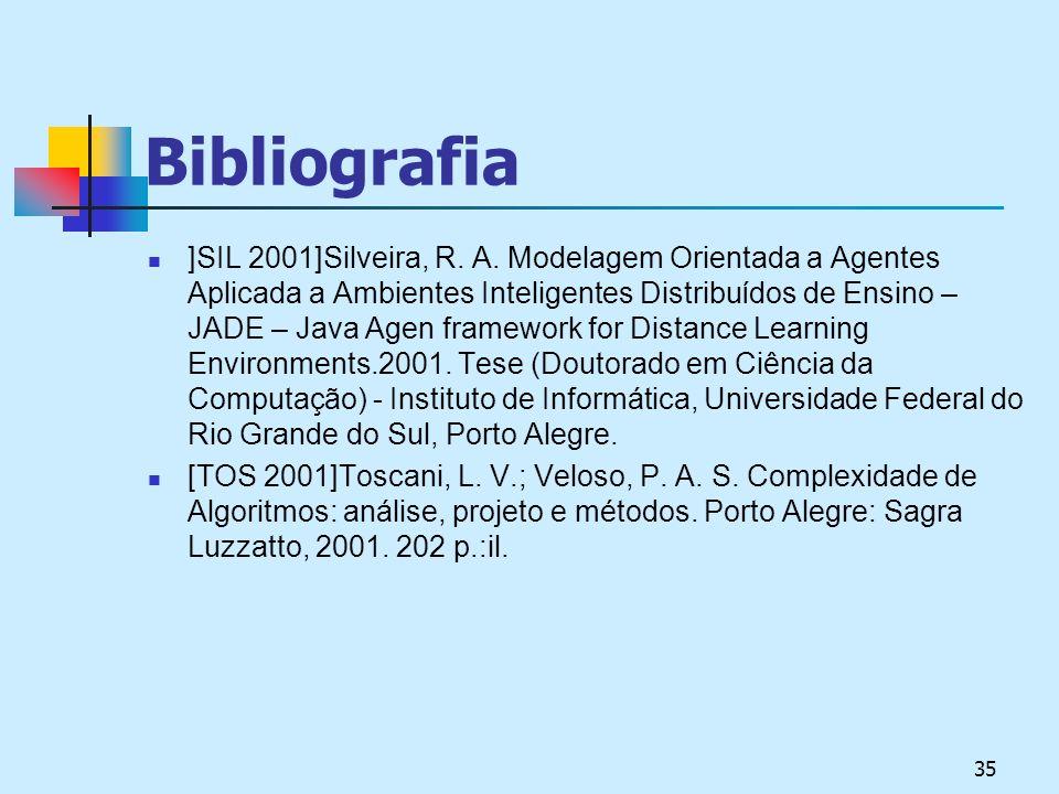 35 Bibliografia ]SIL 2001]Silveira, R.A.