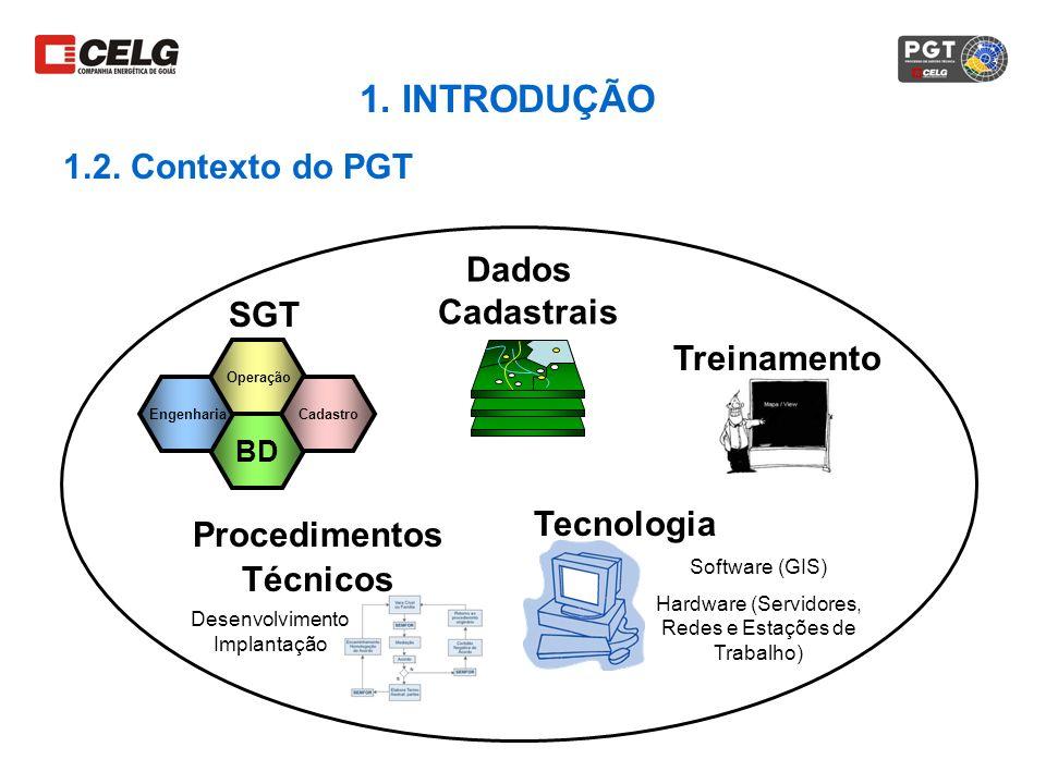 BD Engenharia Operação Cadastro SGT Dados Cadastrais Treinamento Procedimentos Técnicos Tecnologia Desenvolvimento Implantação Software (GIS) Hardware