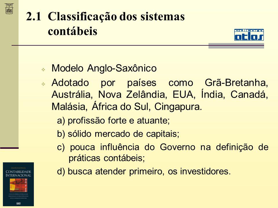 Modelo Anglo-Saxônico Adotado por países como Grã-Bretanha, Austrália, Nova Zelândia, EUA, Índia, Canadá, Malásia, África do Sul, Cingapura. a) profis