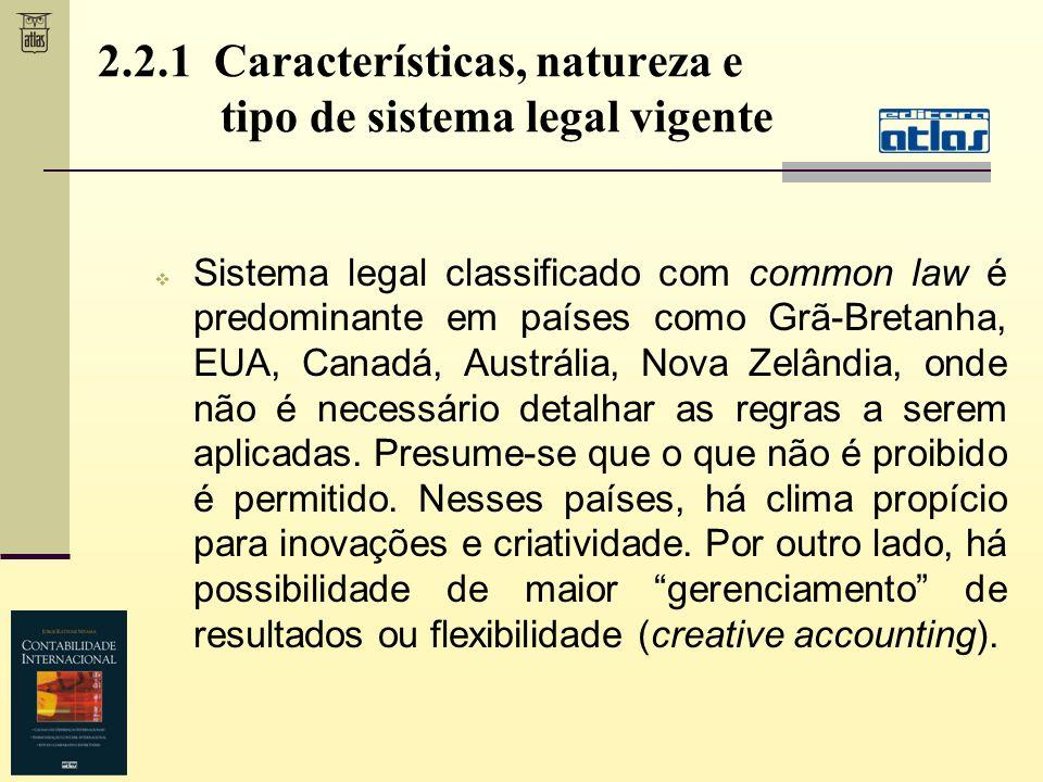 Sistema legal classificado com common law é predominante em países como Grã-Bretanha, EUA, Canadá, Austrália, Nova Zelândia, onde não é necessário det