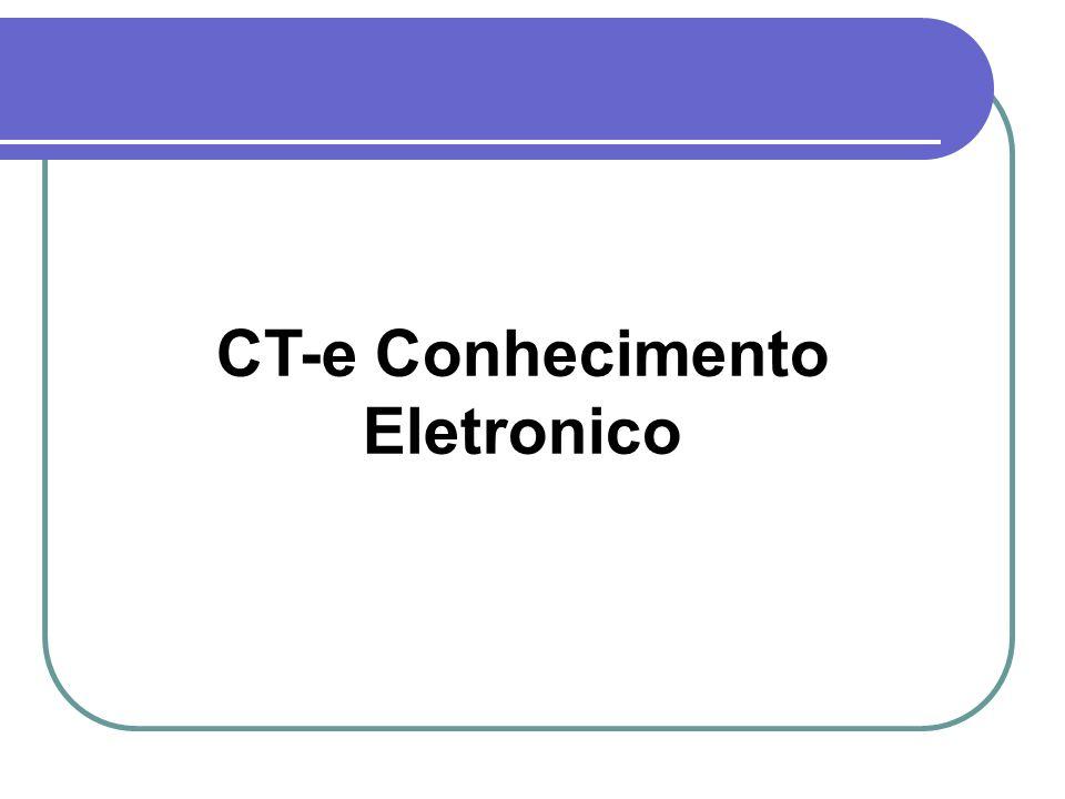 CT-e Conhecimento Eletronico