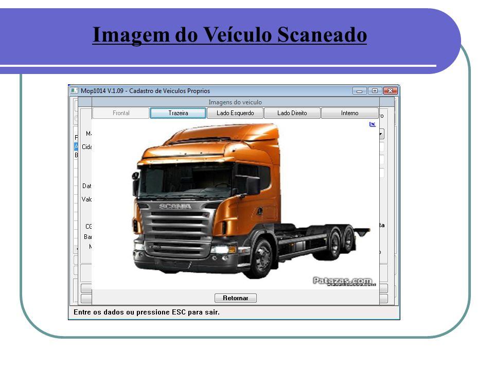 Imagem do Veículo Scaneado