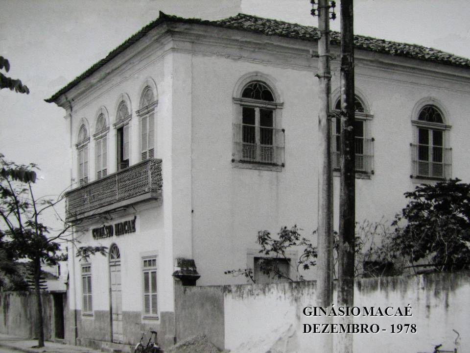 GINÁSIO MACAÉ DEZEMBRO - 1978